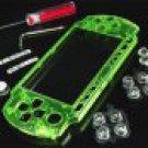 New Farmer XCM PSP-3001 PSP-3000 Faceplate Bling Crystal Green