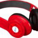 New Red Wireless Stereo Bluetooth Headphone for Mobile Cell Phone Laptop Tablet