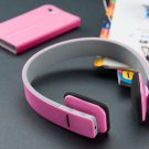 New Wireless Stereo Bluetooth Headphon for Mobile Cell Phones Tablet-Laptop Pink