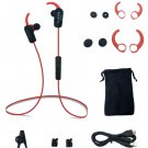 Bluetooth V4.1 Sports Earphone Stereo Earbuds Headset Sweatproof W In-Line Mic