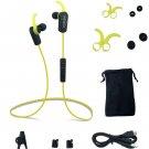 Bluetooth V4.1 Sports Earphone Stereo Earbuds Headset Sweatproof W In-Line Mic