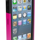 Ballistic SG0926-M365 Screen Guard Case for iPhone 5 Pink Black
