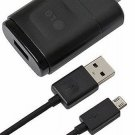 New LG G2 mini LTE G Flex G Pr Wall Charger,Micro USB Data Cable