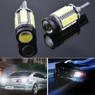 2 x Ultra Bright Xenon White 7W T15 T10 921 T15 912 LED Backup Reverse Bulbs Light