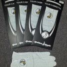 New 4 Pack Genuine Cabretta Leather Golden Eagle Golf Glove Cadet X Large