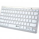 New Bluetooth 3.0 Wireless Keyboard for Apple iPad-1 1 2 3 4 Mac Computer PC Macbook