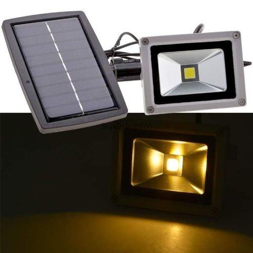 Solar Power LED Flood Night Light Garden Spotlight Waterproof Outdoor Lamp SO6H