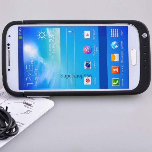 New 4200mAh Samsung S4 Galaxy Battery Backup Charging Bank Power Case Pack