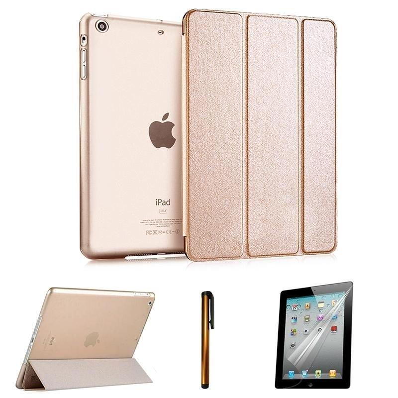 Ultra Slim Magnetic Smart Cover Hard Back Case Sleep Wake for iPad Air Mini