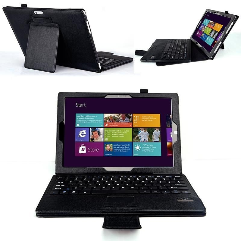 Microsoft Surface Pro 3 Case Cover Detachable Bluetooth Keyboard Touchpad
