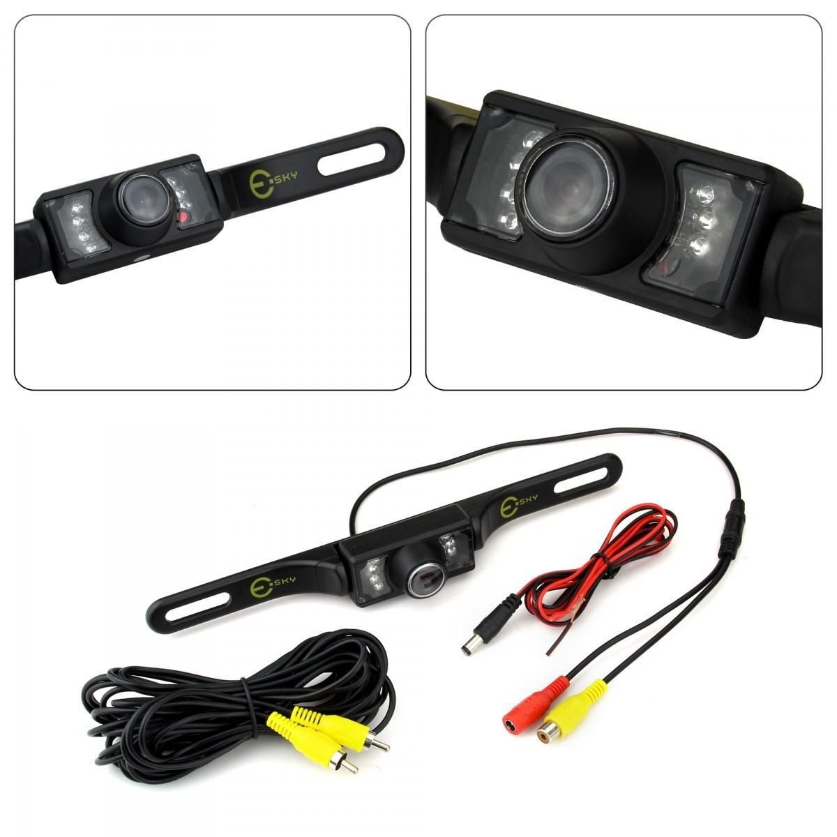 Universal CMOS Waterproof 7 LED Car Rear View Reverse Backup Parking Camera