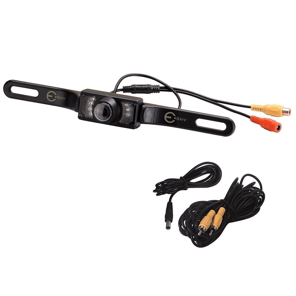 New Car Universal Rear View Reverse Backup Camera 7 LED Night Vision NTSC TV SY