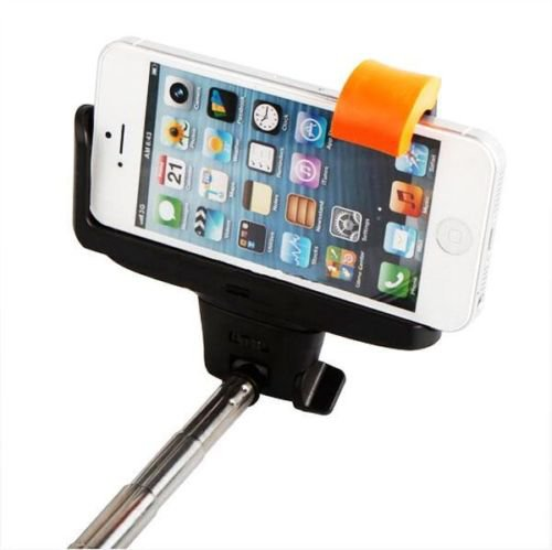 New Bluetooth Shutter Extendable Handheld Selfie Stick Monopod for Samsung iPhone