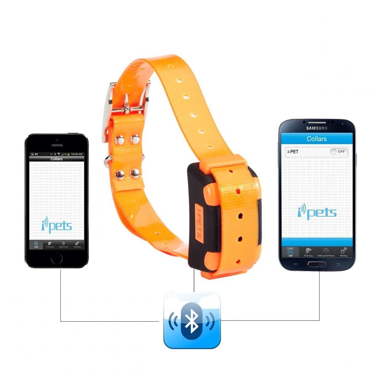 New Esky Waterproof Rechargeable Smartphone Dog Training Collar Anti Bark