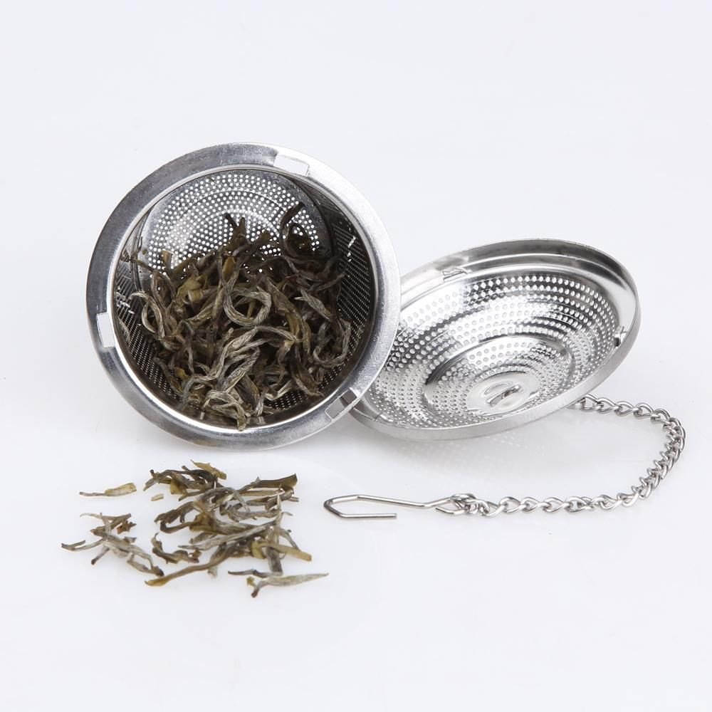 Tea Infuser Diffuser Loose Leaf Strainer Stainless Steel Spice Filter with Lid