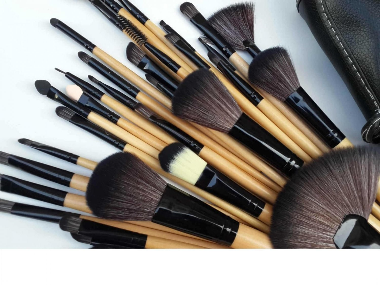 32 Pcs Fabulous Soft Makeup Brushes Professional Cosmetic Make Up Brush Tool Set