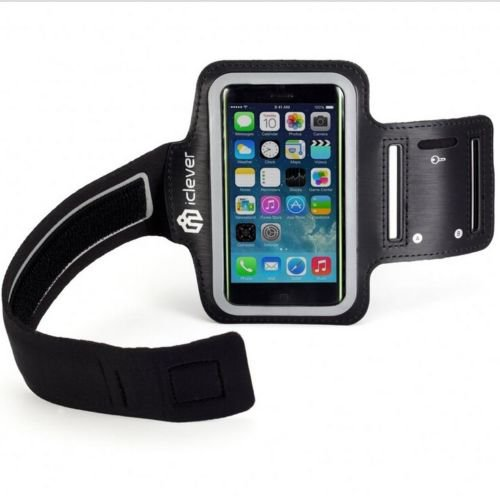 iClever Ab-01 Sports Armband Key Holder for Apple Iphone 5s 5c 5 Ipod Touch 5