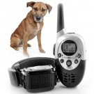 1000M Rechargeable Waterproof LCD Shock Remote Dog Training Collar Backlit