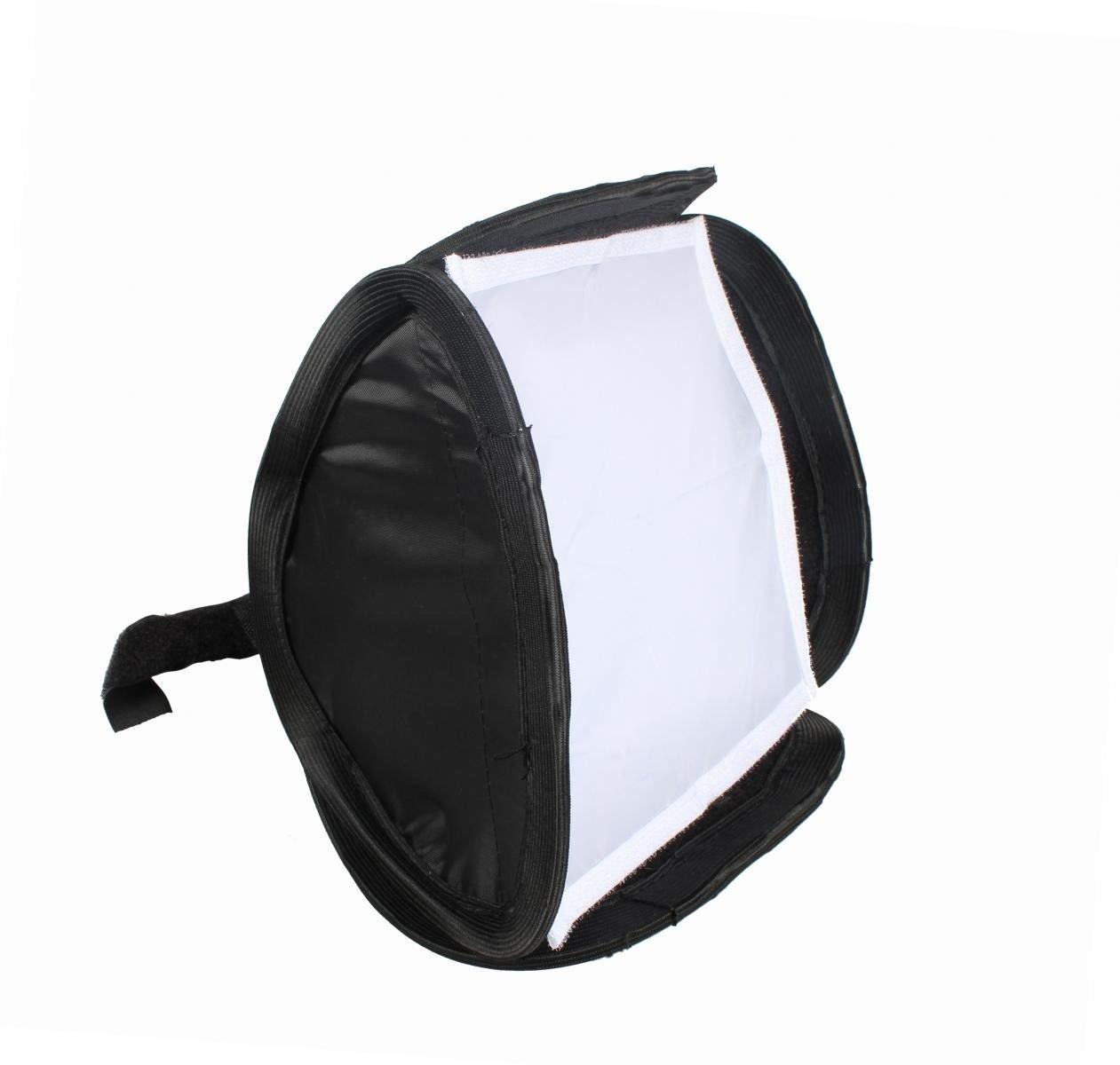 23cm 9 Portable Softbox Soft Box for Flash Light Speedlite Photo Tent Shooting