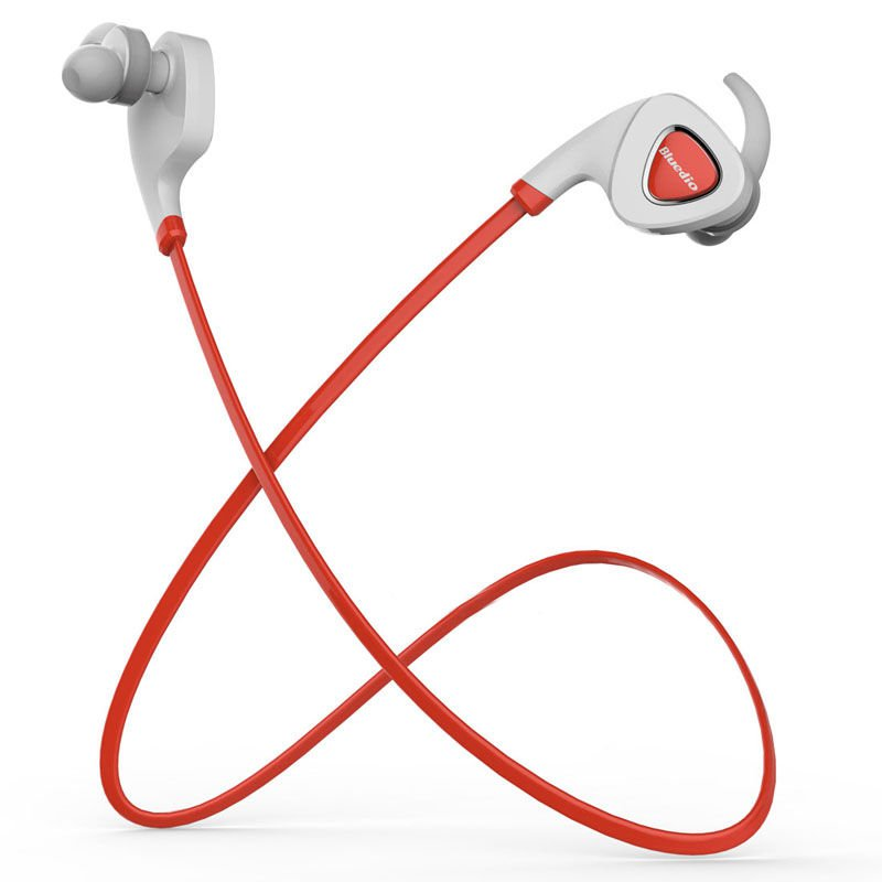 New Red Wireless Bluetooth Sport Headset Headphones For Samsung iPhone