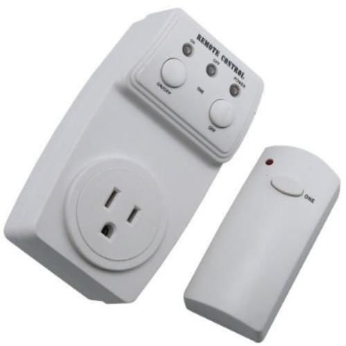 New Wireless Remote Control AC Power Outlet Plug Light Lamp Appliance Switch