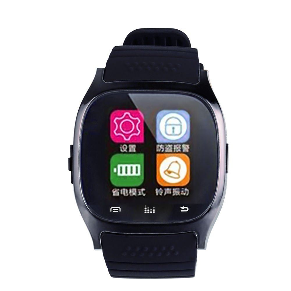New Bluetooth Smart Wrist Watch Phone Mate For Android Samsung HTC LG Sony Black