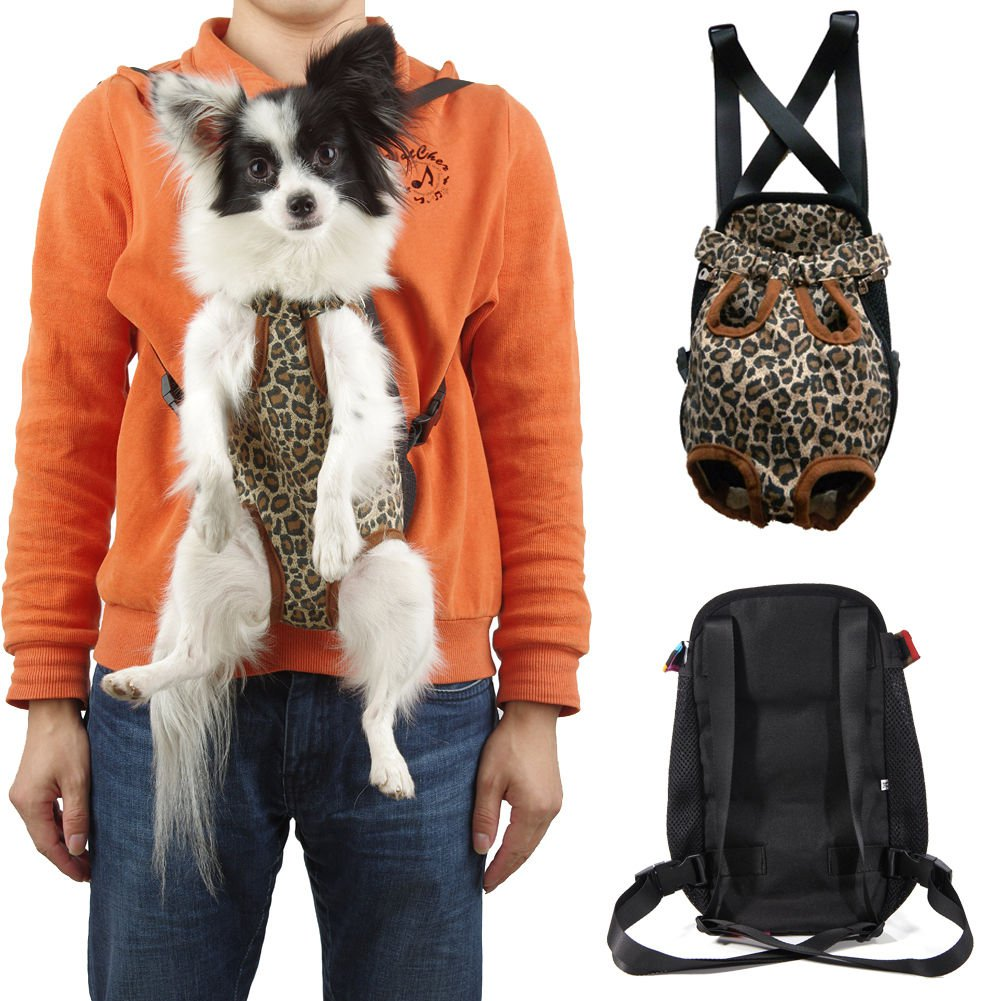 New Nylon Pet Puppy Dog Carrier Backpack Front Net Bag Tote Carrier 4 Sizes