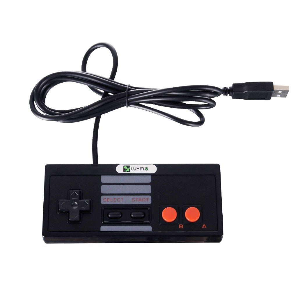 New USB Controller Classic Nintendo Plug-n-Play for Window MAC Black