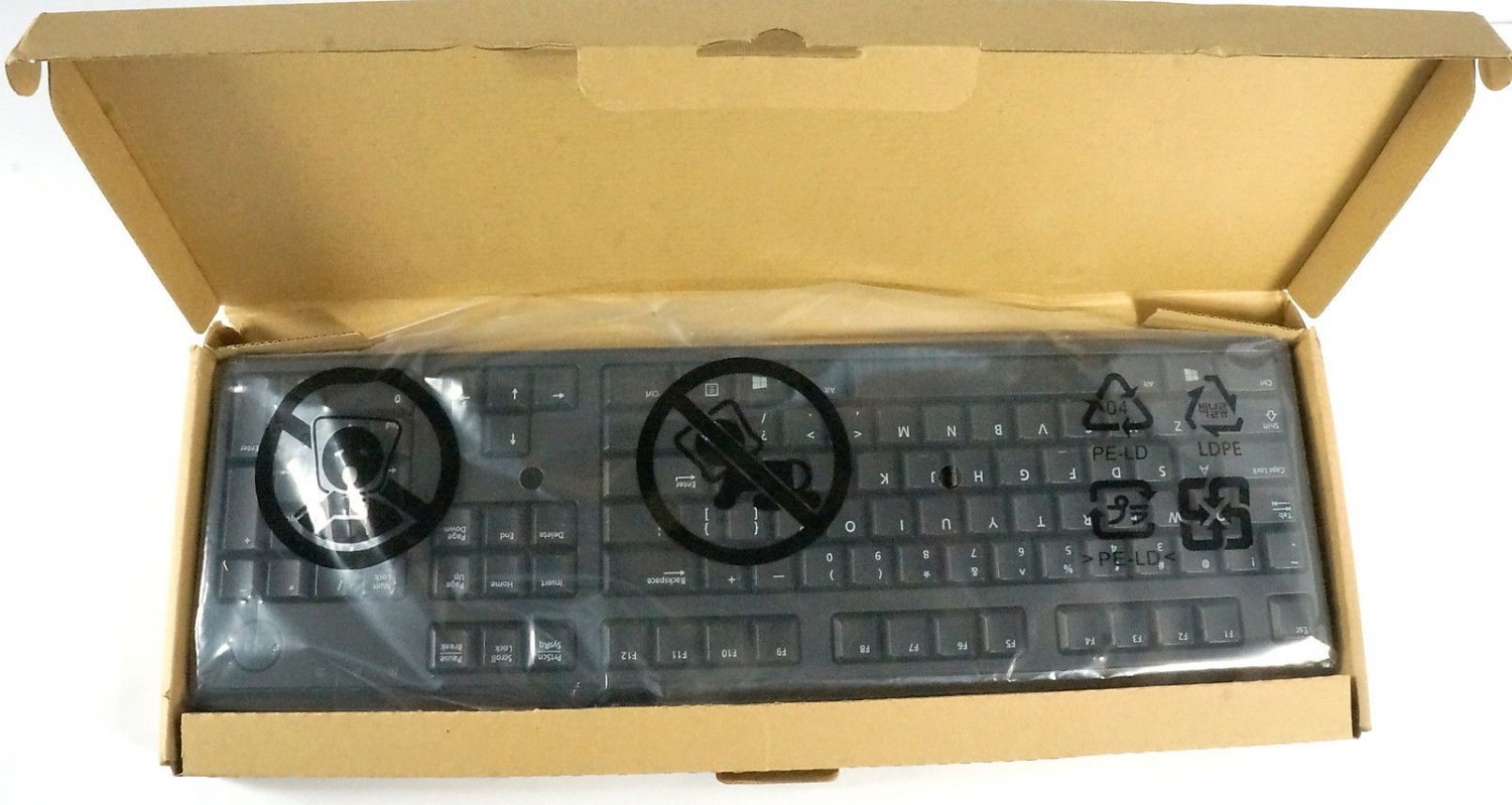 New Genuine Dell Slim USB Keyboard 54JM6 4G481 DJ454 KB4021 SK-8120 KB212-B