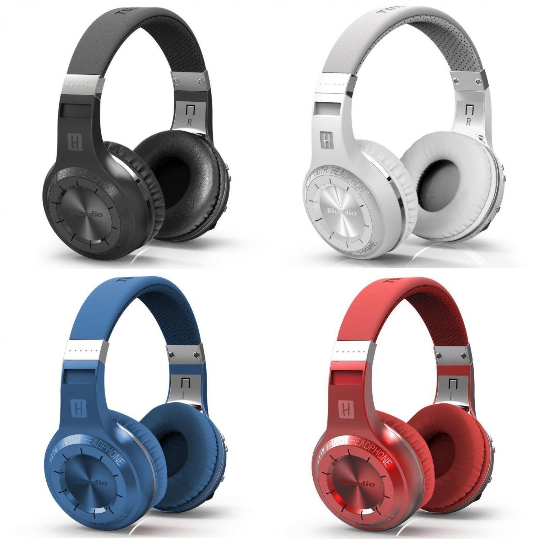 New Bluedio Turbine Hurricane Bluetooth 4.1 Wireless Stereo Headphones