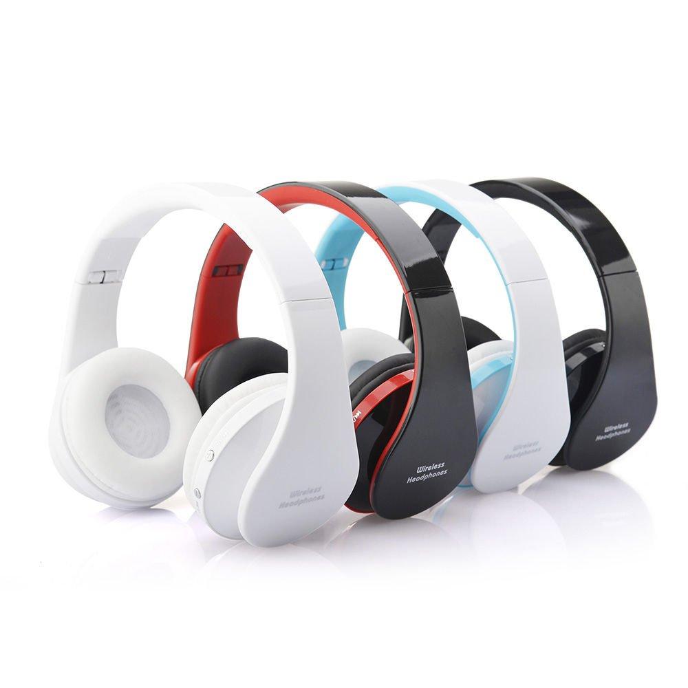 New Foldable Wireless Bluetooth Stereo Headset Handfree Earphone Headphone