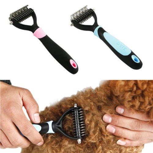 Pet Hair Clipper Shaver Dog Cat Deshedding Comb Blade Brush Rake Grooming Tool