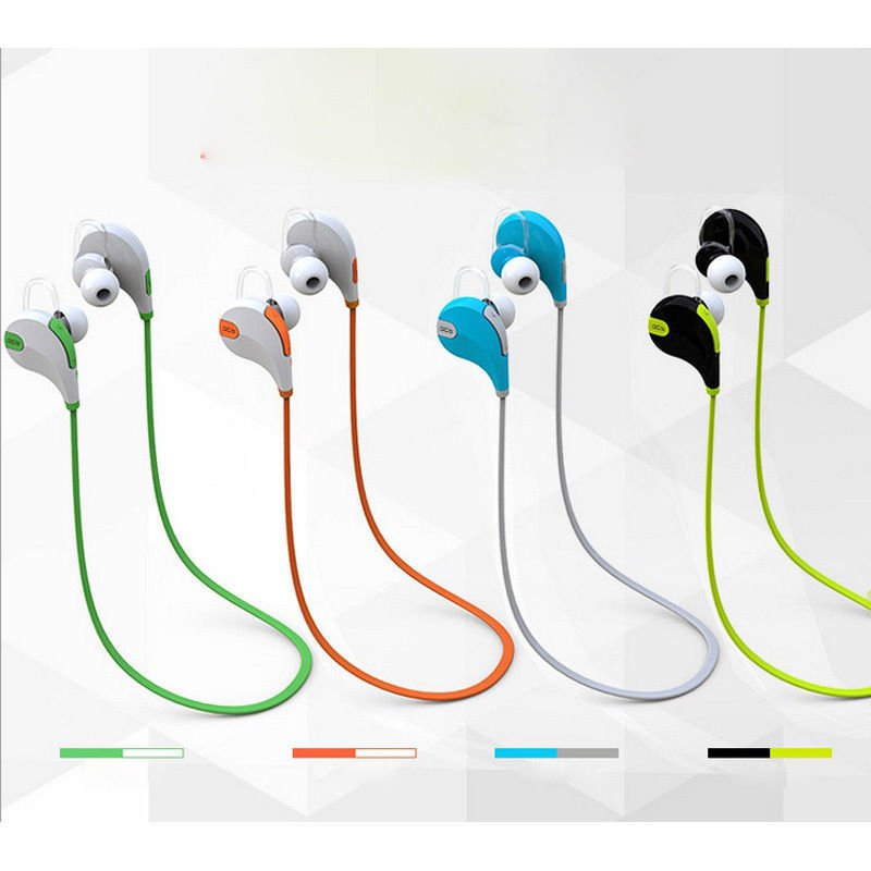 New Wireless Bluetooth 4.1 Stereo Earbuds Headset Mic for iPhone 6 SamsungLG