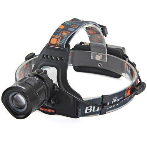 New Boruit RJ 2157 1X Cree XM L2 Waterproof LED HeadLight Headlamp