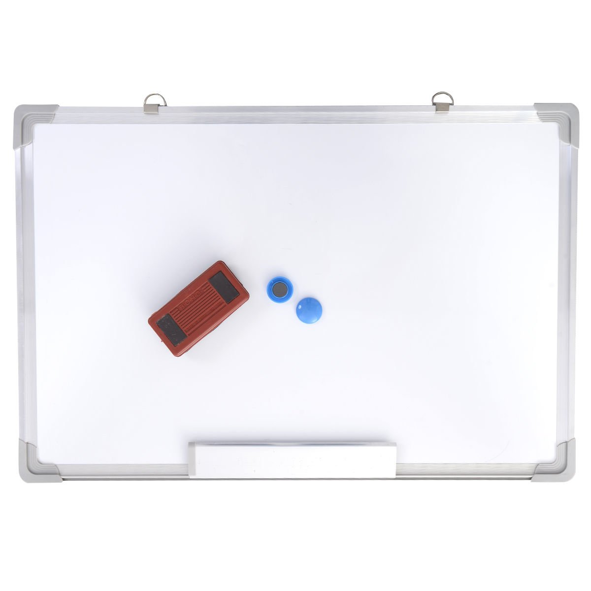 24x16 Single Side Magnetic Writing Whiteboard Dry Erase Board Office Eraser