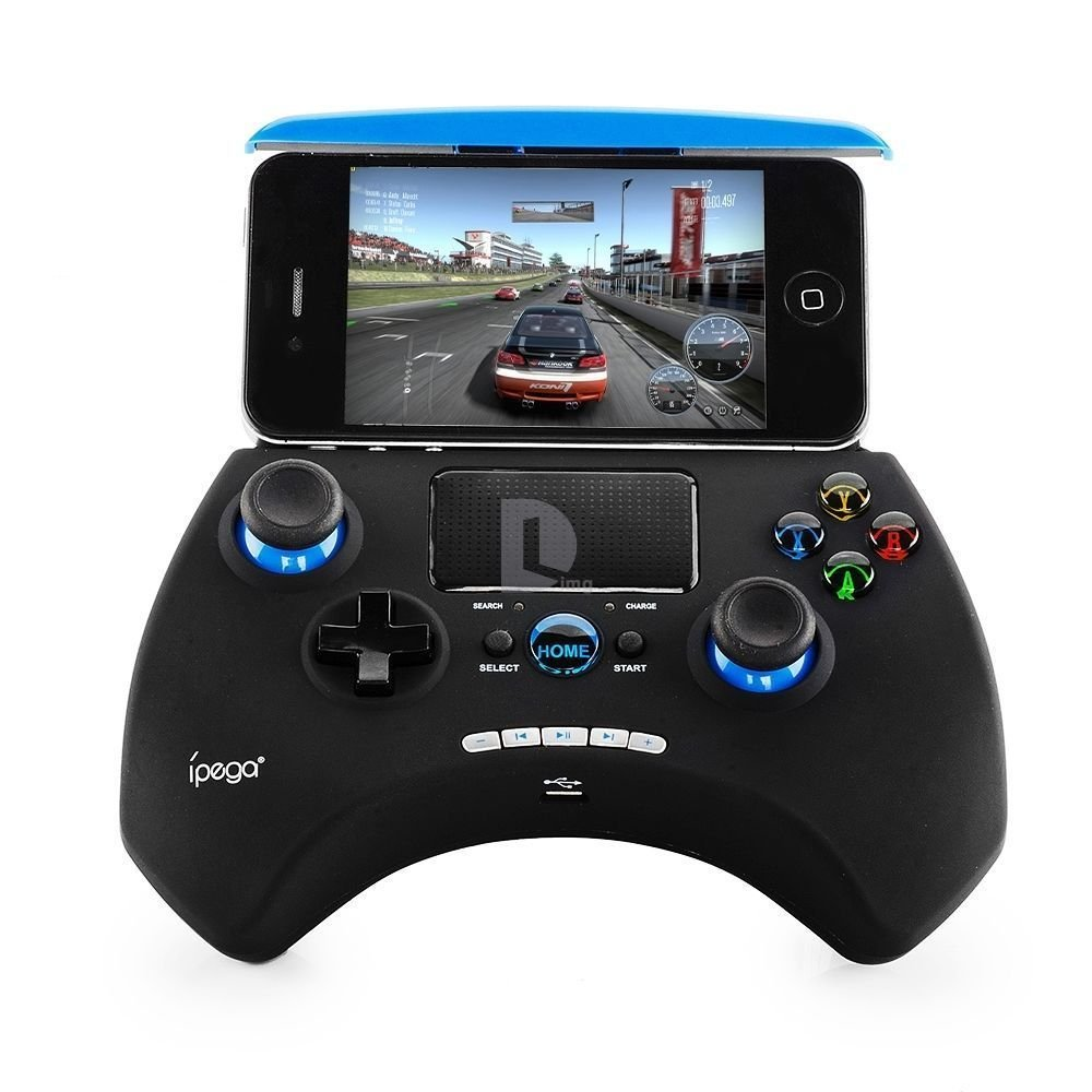 New Touchpad Ipega-9028 Bluetooth Wireless Game Controller Black blue