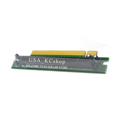 PCI-E 16X 90 Degree right Angle Extender Protector Riser Card 1U 2U