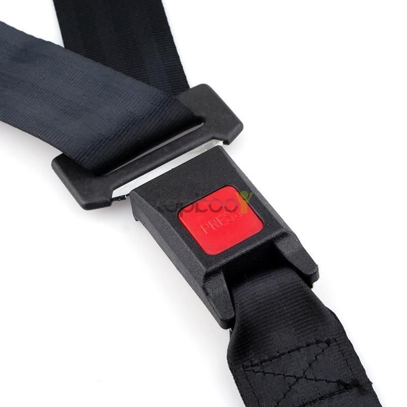 New Adjustable Seat Belt Car Truck Lap Belt Universal 3 Point