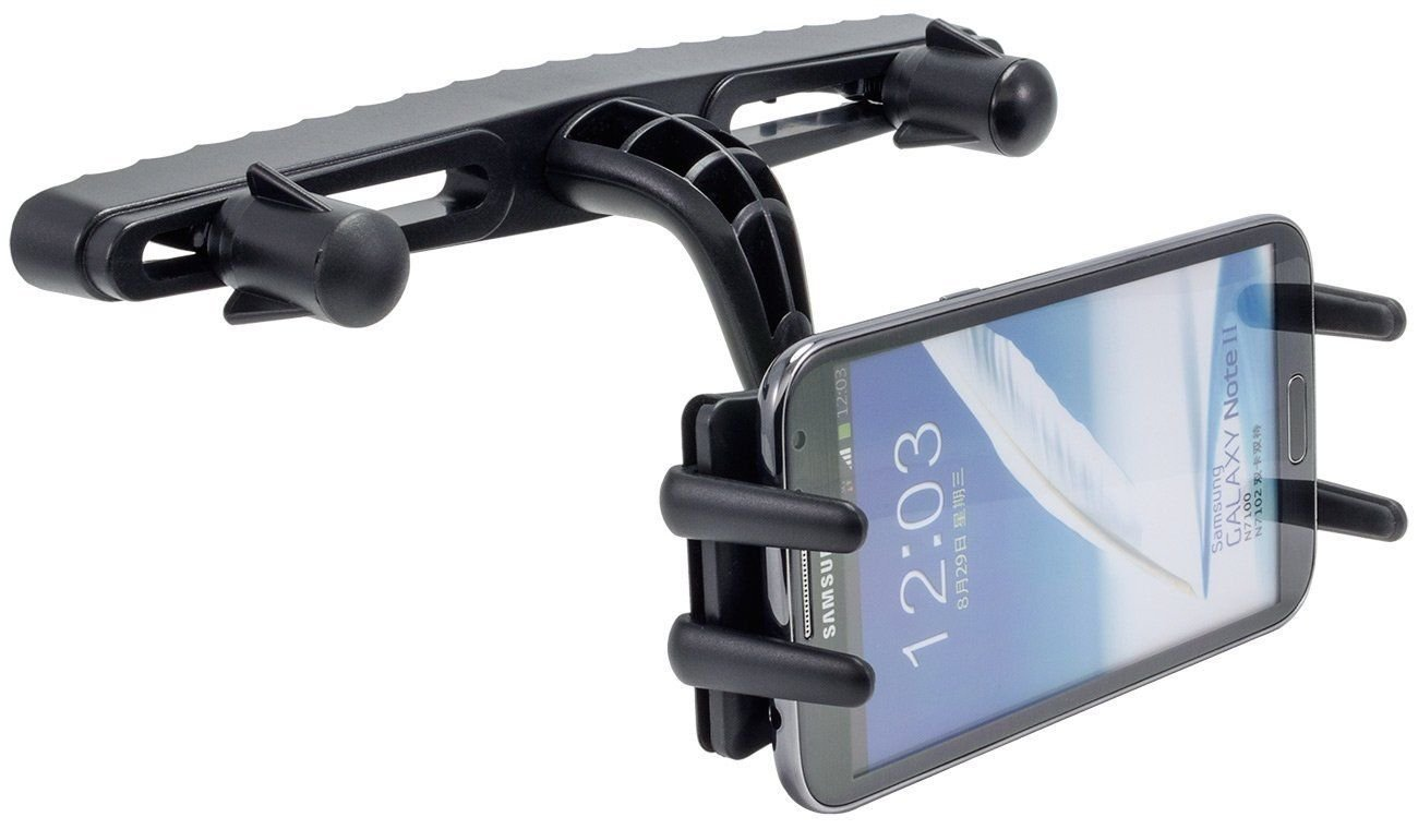 Arkon SM6-RSHM Headrest Car Seat Mount for iPhone 6 5S Galaxy 5S Note 4 3 S5 S4