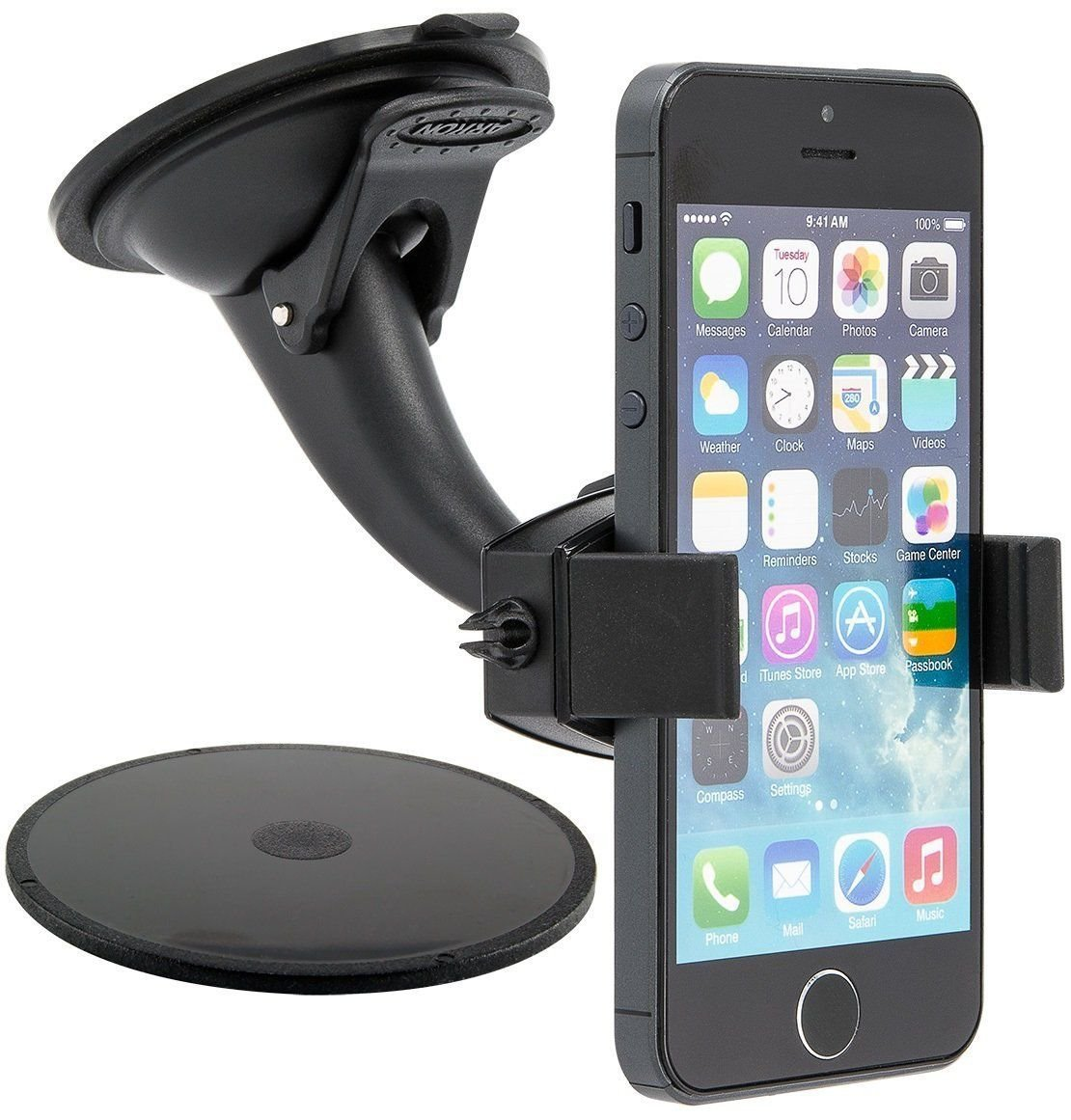 Arkon Mobile-Grip 2 MG268 Sticky Suction Mini Windshield Dash Mount