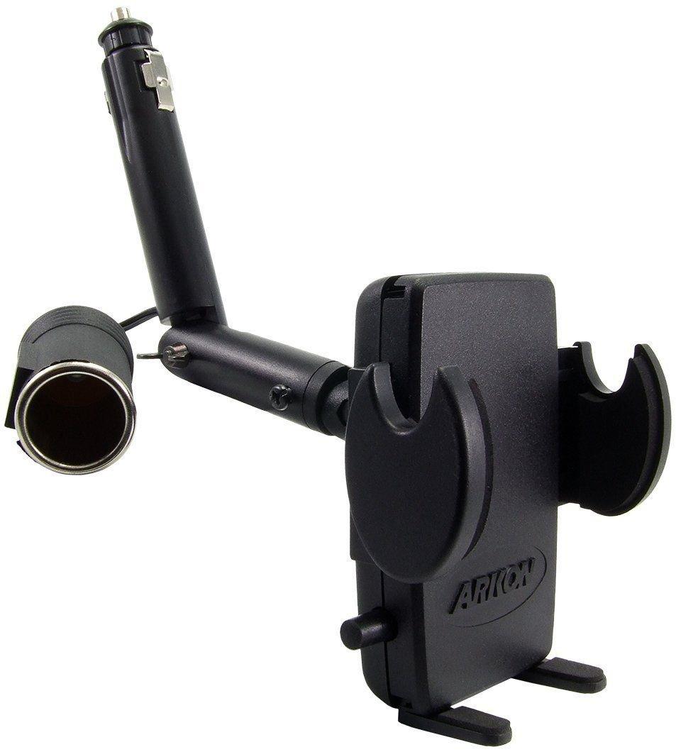New SM421 Arkon Smartphone Lighter Socket Car Mount Holder
