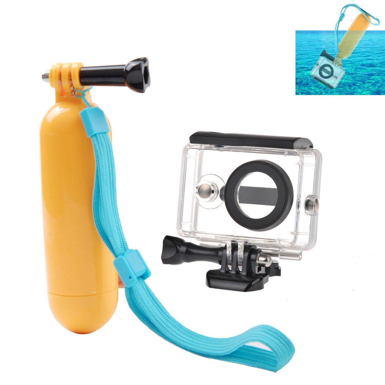 40M Underwater Waterproof Case Floating Grip Mount for Camera