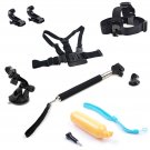 New Accessories Kit for GoPro Hero 3 4 Mounts Chesty Roll Bar