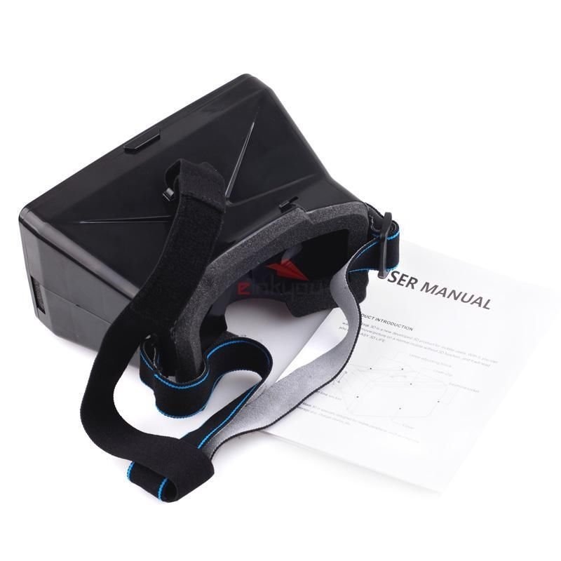 Head Mount Universal Virtual Reality 3d Video Glasses for iPhone 6 Plus 6 5S