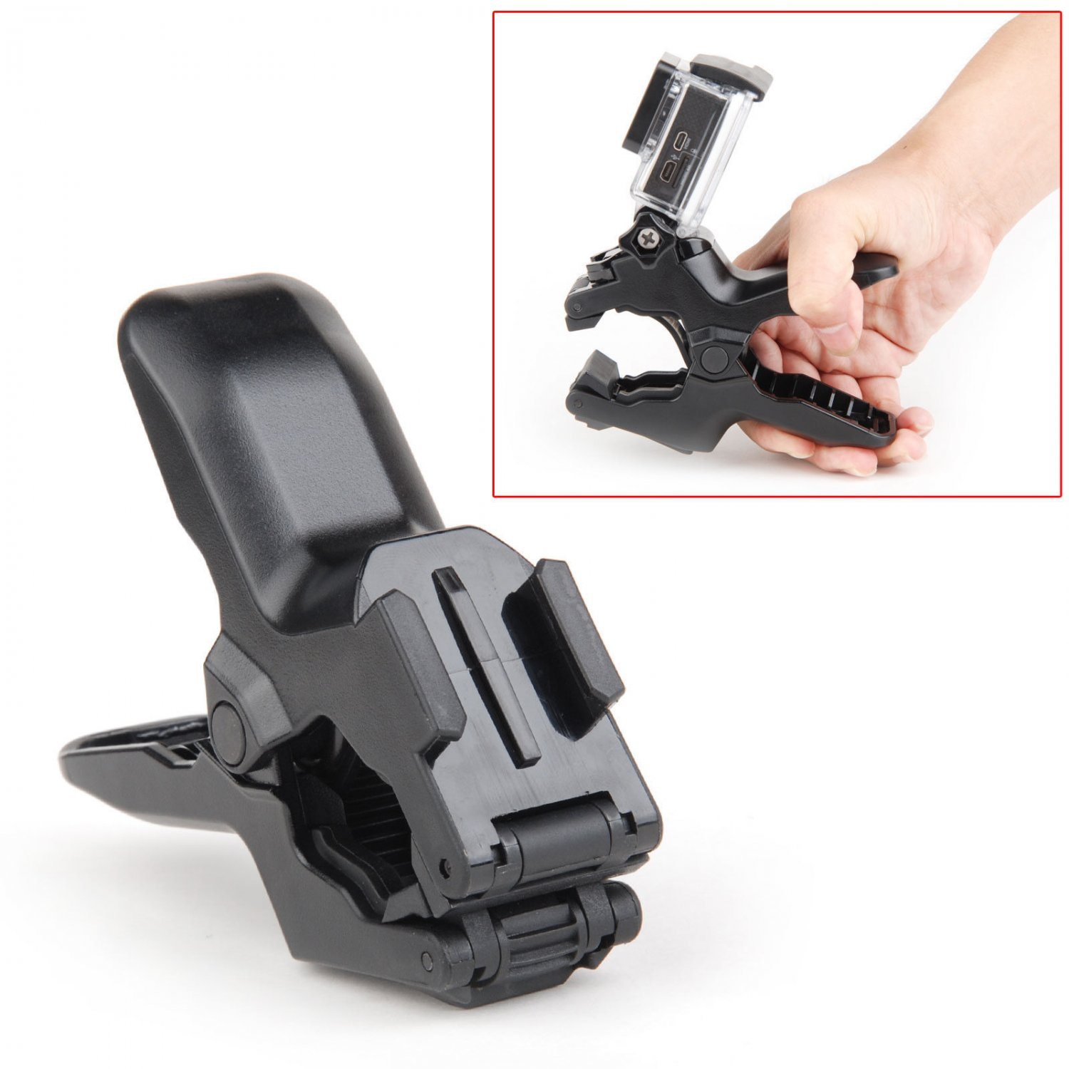 New Flex Clamp Mount Roll Bar Mount Holder Hero 2 3 4