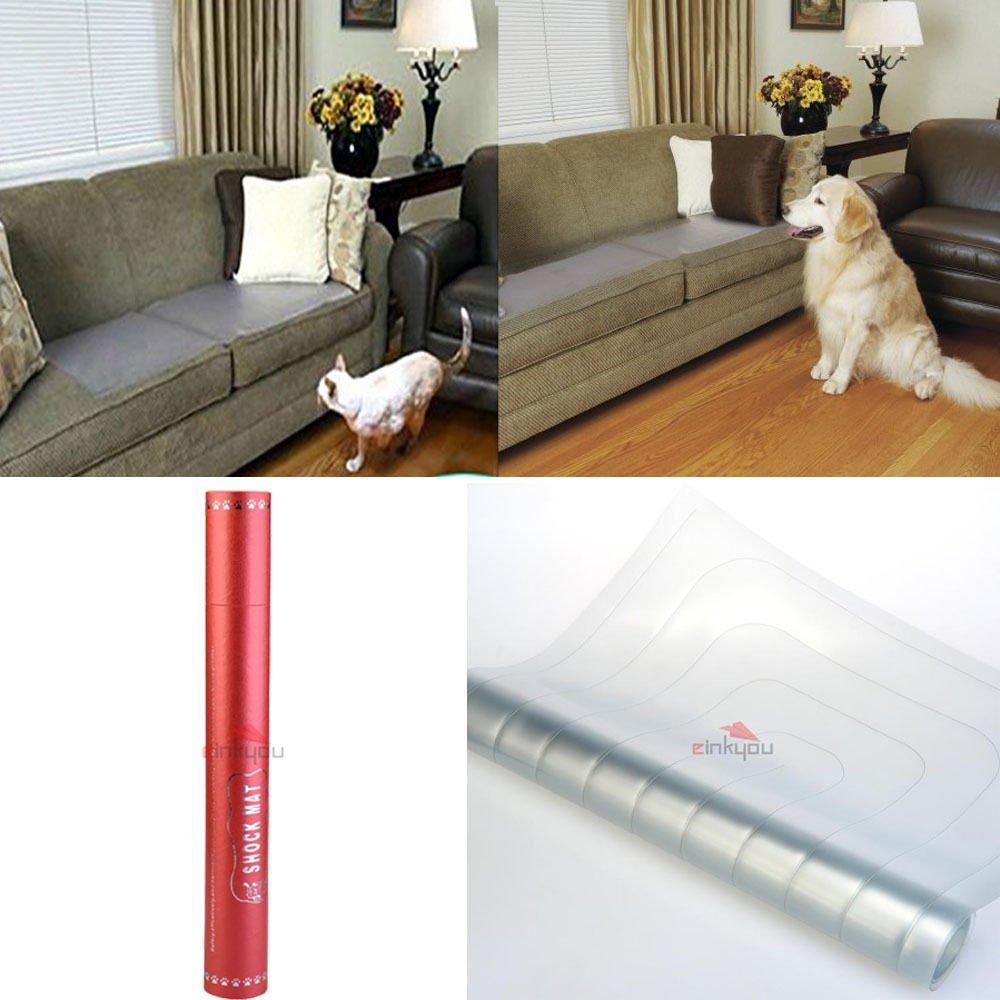 3-Level Shock Mat Indoor Electronic Static Pet Training Mat 48.4x16.7 inch