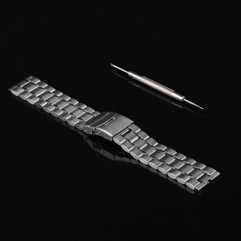 New Stainless Steel Metal Watchband for Motorola Moto 360 Smartwatch Tool