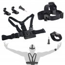 Accessory Set Kit Chest Strap Head Strap Wrist Strap for GoPro Hero 3 4