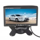 7 Inch TFT LCD Color 2 Video Input DVD VCR DVR Headrest Car RearView Monitor