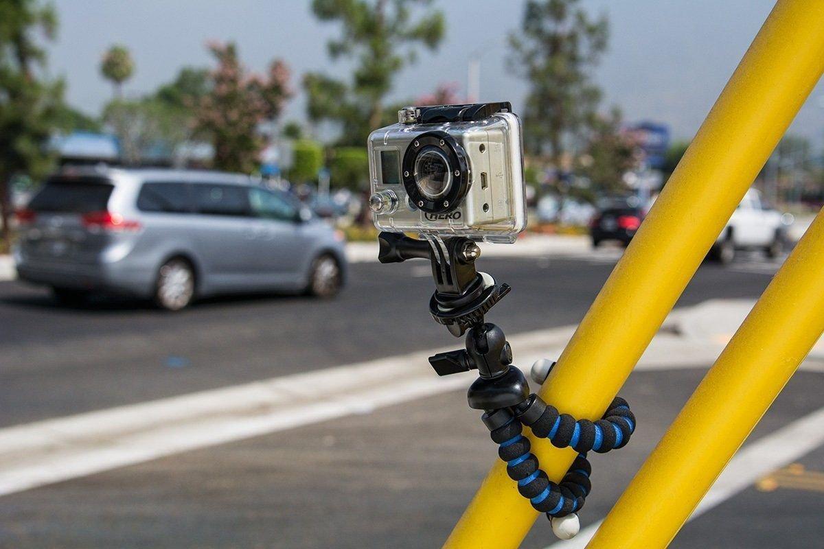 New Arkon GPROTRI Mini Travel Purse Tripod Mount for GoPro HERO Action Cameras